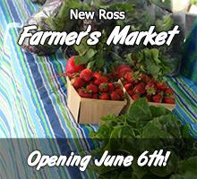 New Ross Farmer's Market - Opening June 6th